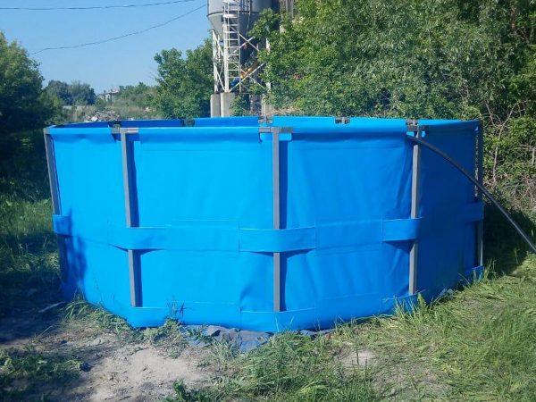 Каркасный бассейн,восьмигранник,объем 15000 литров