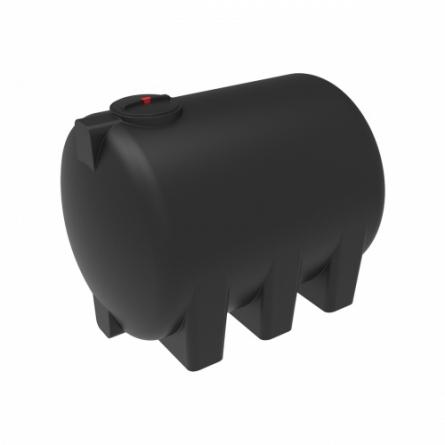 Емкость H 5000 с крышкой с дыхательным клапаном черный