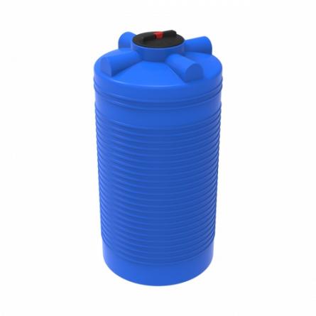 Емкость ЭВЛ-Т 1000 с крышкой с дыхательным клапаном синий