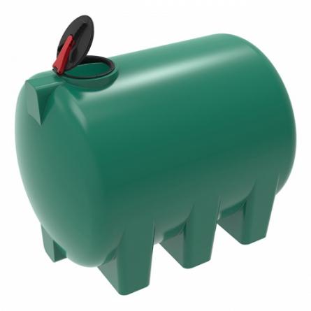 Емкость H 5000 с крышкой с дыхательным клапаном зеленый