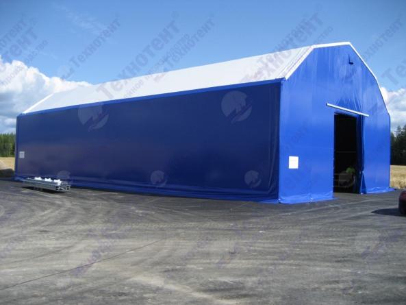 Теплый ангар для производственного помещения 12х68м