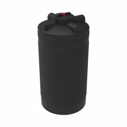 Емкость ЭВЛ-Т 1000 с крышкой с дыхательным клапаном черный