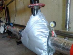 Термочехлы для запорной арматуры