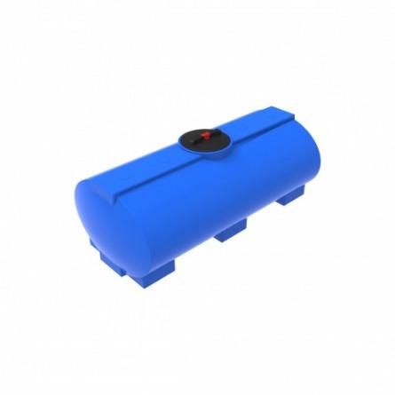Емкость ЭВГ 750 с крышкой с дыхательным клапаном синий