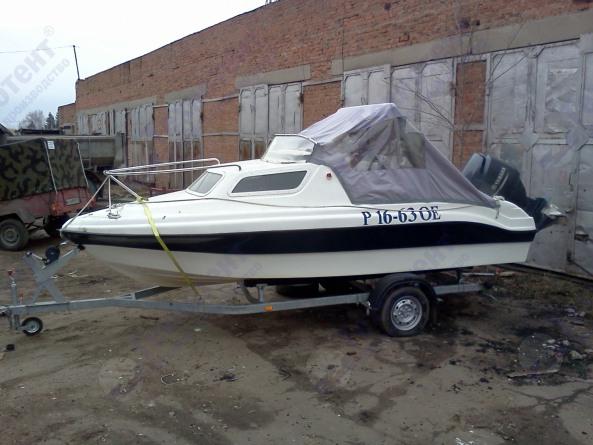 Ходовой тент на лодку (катер)