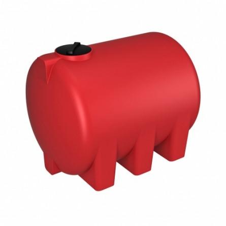 Емкость КАС 5000 Н с откидной крышкой красный