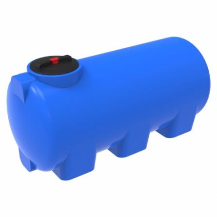 Емкость H 750 с крышкой с дыхательным клапаном синий