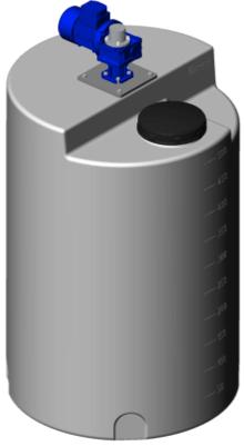 Емкость дозировочная 500 с лопастной мешалкой