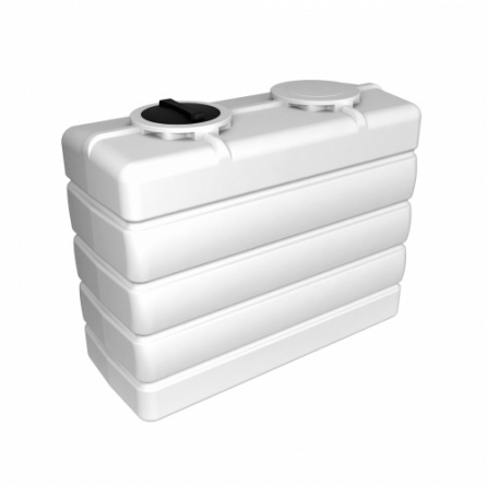 Емкость K 3000 с крышкой с дыхательным клапаном белый