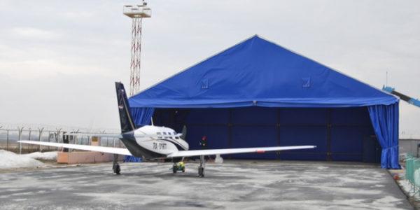 Ангар для автомобильной и авиатехники