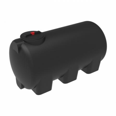Емкость H 1000 с крышкой с дыхательным клапаном черный