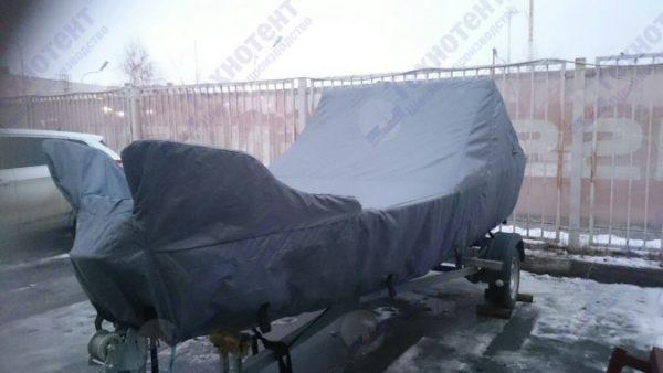 Транспортировочный тент на лодку (катер)