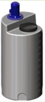 Емкость дозировочная 200 с турбинной мешалкой