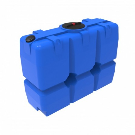 Емкость SK 2000 с крышкой с дыхательным клапаном синий