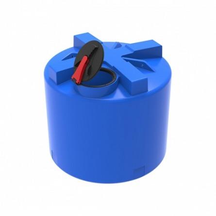 Емкость T 3000 с крышкой с дыхательным клапаном черный