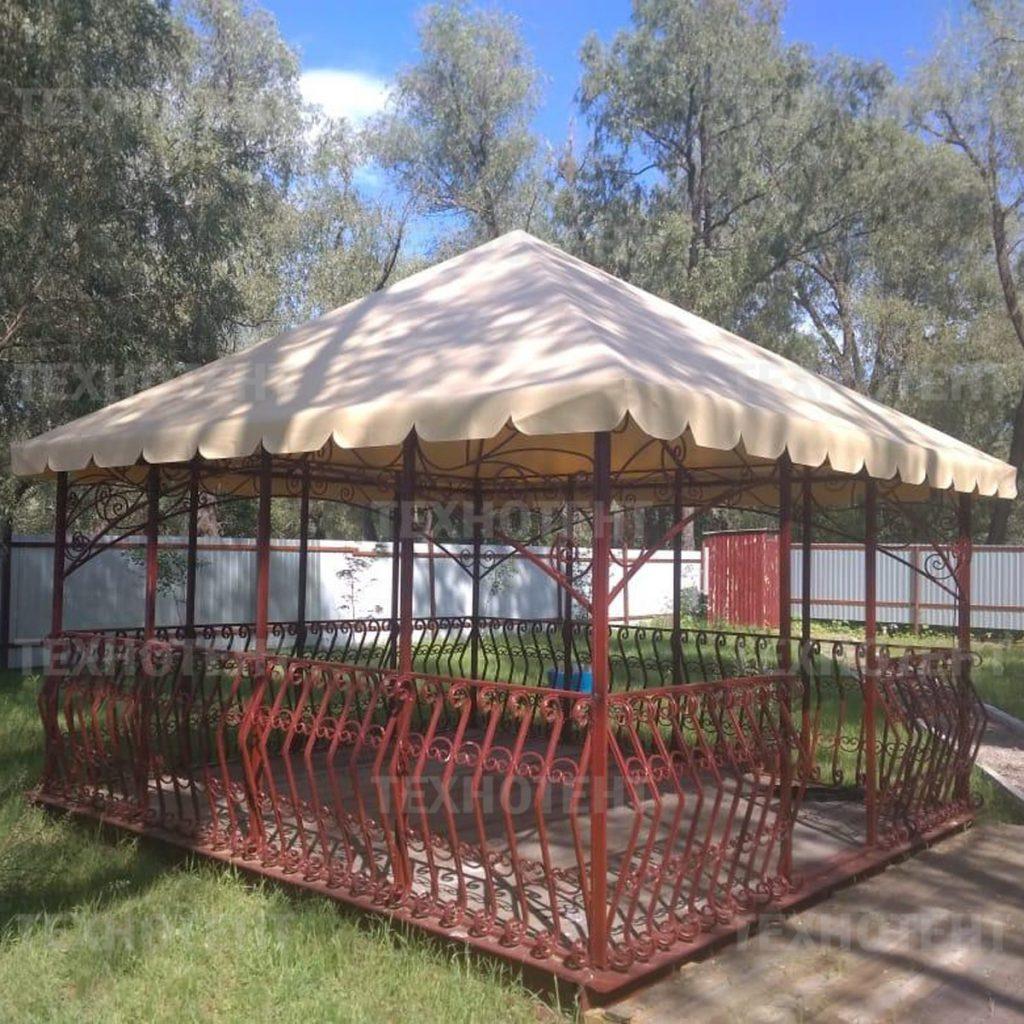 шатер для дачи