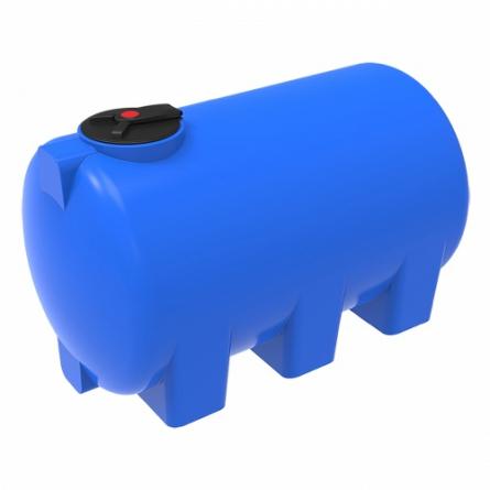 Емкость H 3000 с откидной крышкой с дыхательным клапаном синий