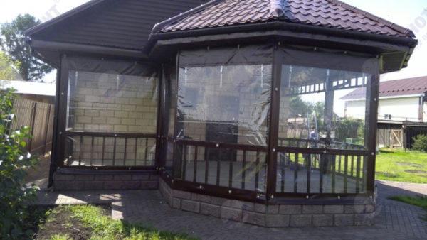мягкие окна для беседки