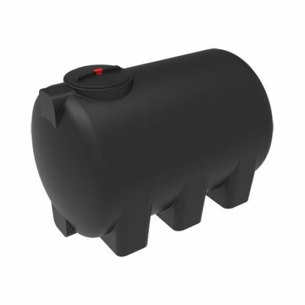 Емкость H 2000 с крышкой с дыхательным клапаном черный