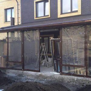 Мягкие окна для кафе
