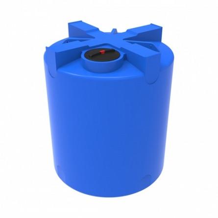 Емкость T 5000 с крышкой с дыхательным клапаном синий