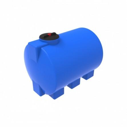 Емкость ЭВГ 1000 с крышкой с дыхательным клапаном синий