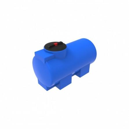 Емкость ЭВГ 350 с крышкой с дыхательным клапаном синий