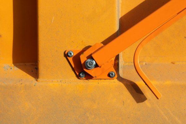 Полог на самосвал с механизмом намотки (с лестницы)