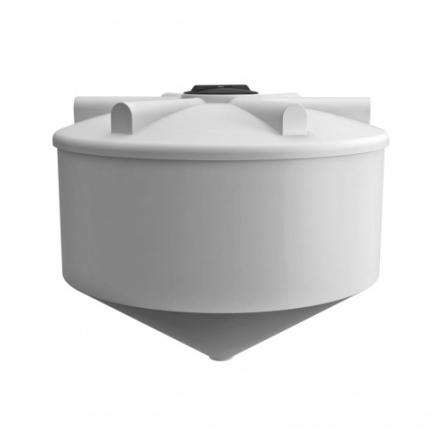 Емкость ФМ 3000 с крышкой с дыхательным клапаном белый