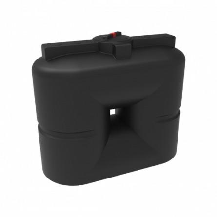 Емкость S 1000 с крышкой с дыхательным клапаном черный