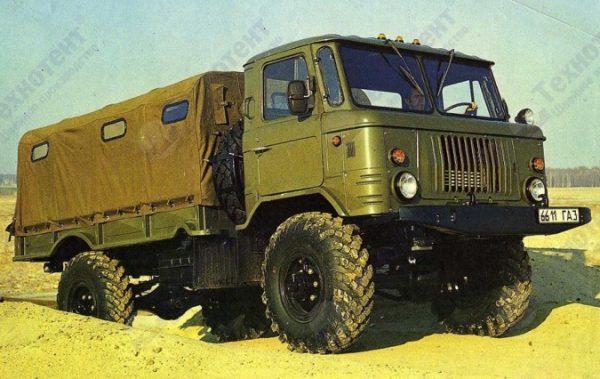 Тент на ГАЗ-66 (Шишига)