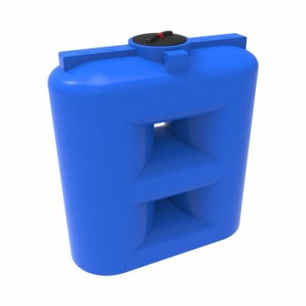 Емкость SL 2000 с крышкой с дыхательным клапаном синий
