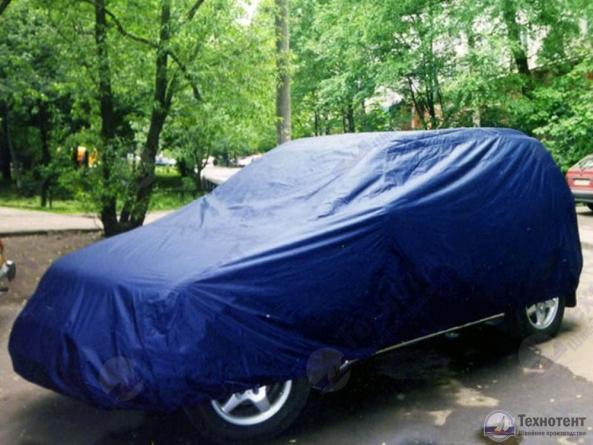 """Автомобильный защитный чехол тент на автомобиль универсал/внедорожник """"Премиум"""""""