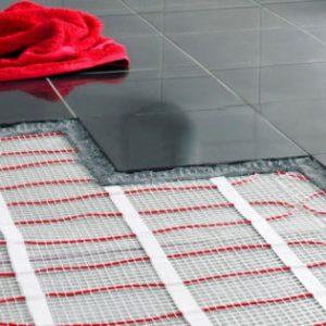 Теплый пол под плитку электрический
