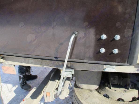 Распашные ворота на грузовые автомобили